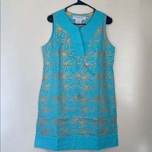 💥HP💥Gretchen Scott Turquoise Sun Dress NWT